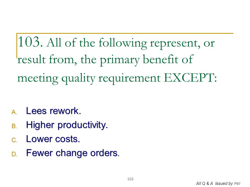 Lees rework. Higher productivity. Lower costs. Fewer change orders.