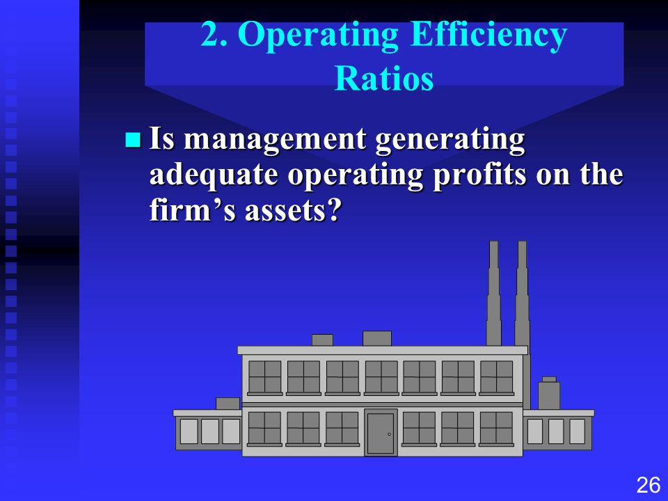 2. Operating Efficiency Ratios