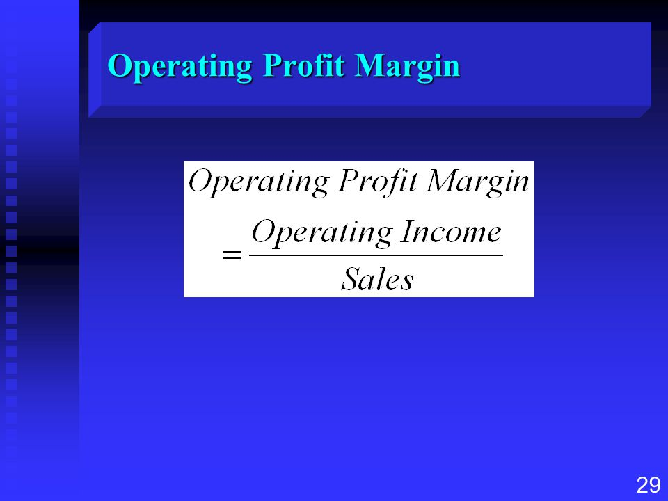 Operating Profit Margin