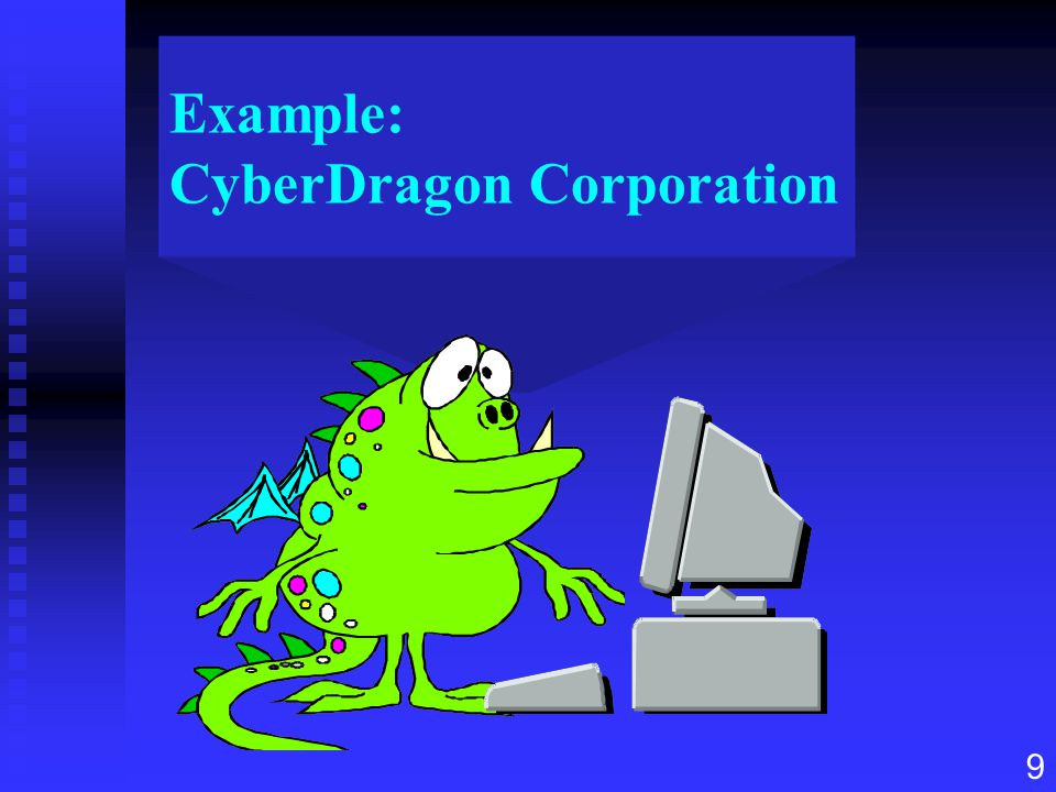 Example: CyberDragon Corporation