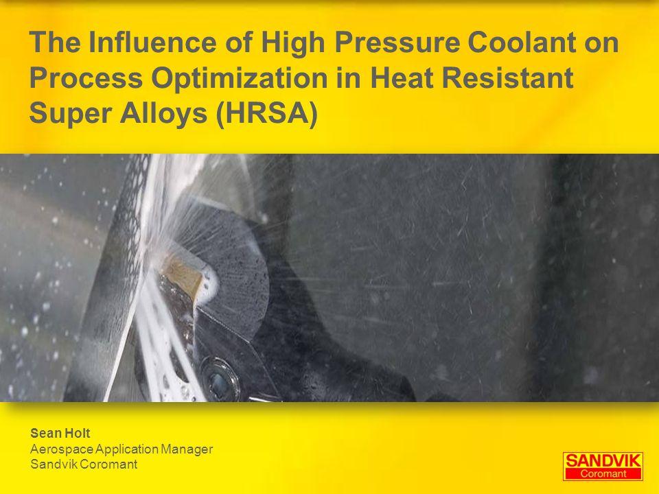 High Pressure Coolant DVD