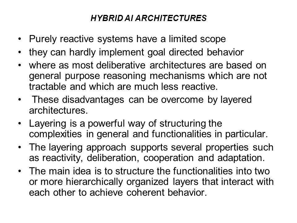 HYBRID AI ARCHITECTURES