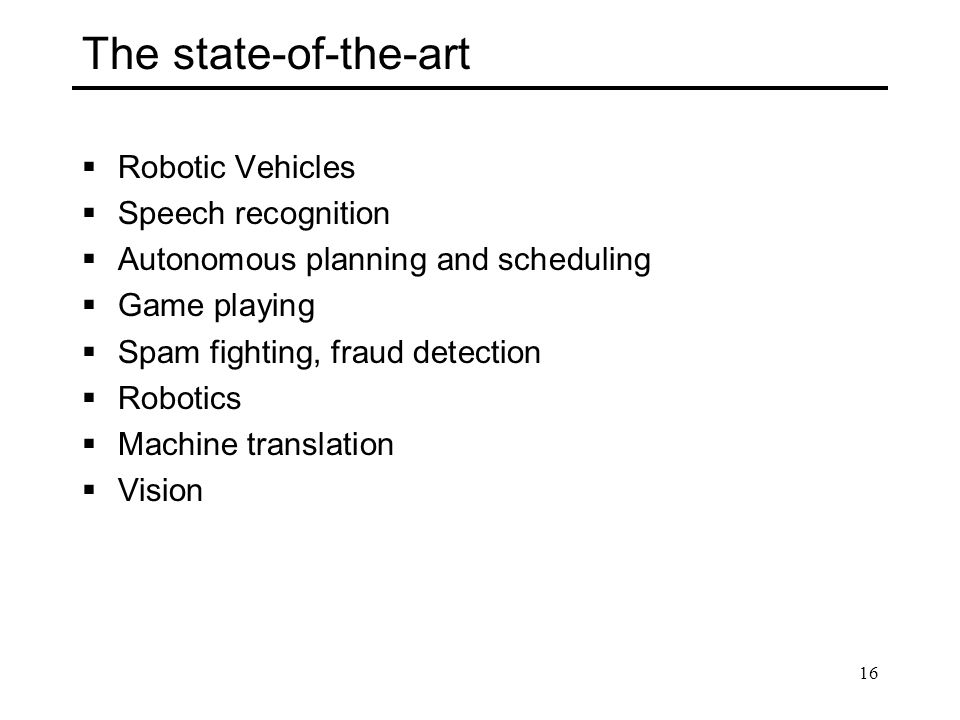 The state-of-the-art Robotic Vehicles Speech recognition