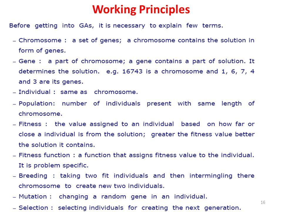 Working Principles