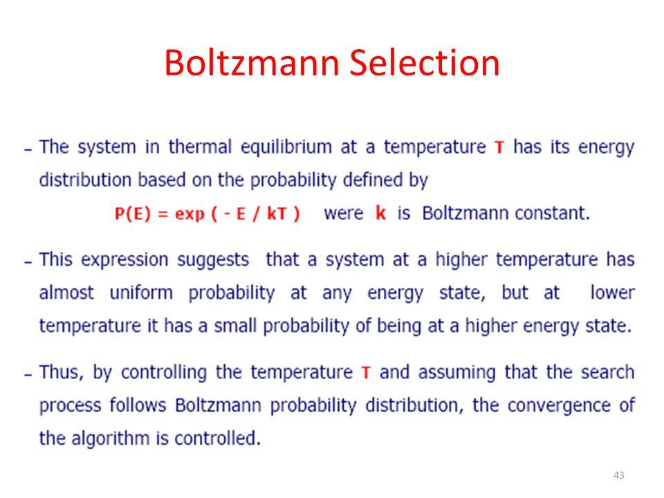 Boltzmann Selection