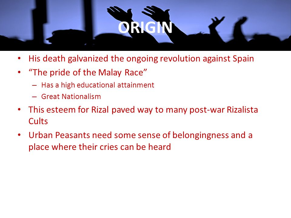 ORIGIN His death galvanized the ongoing revolution against Spain