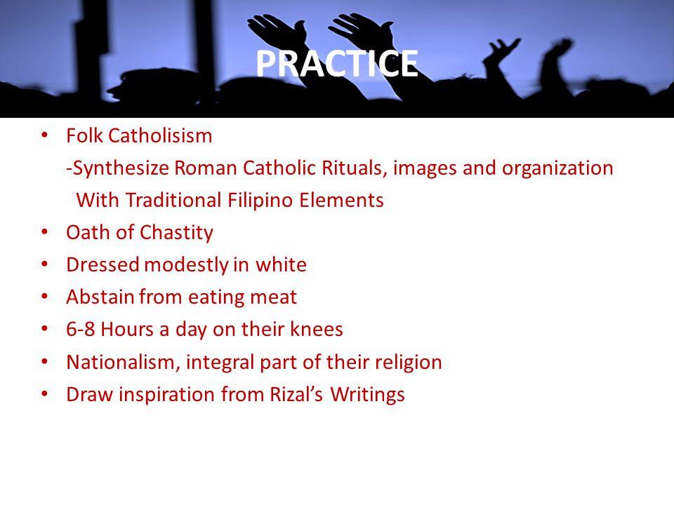 PRACTICE Folk Catholisism