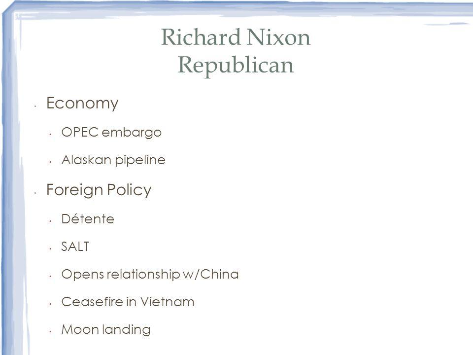 Richard Nixon Republican