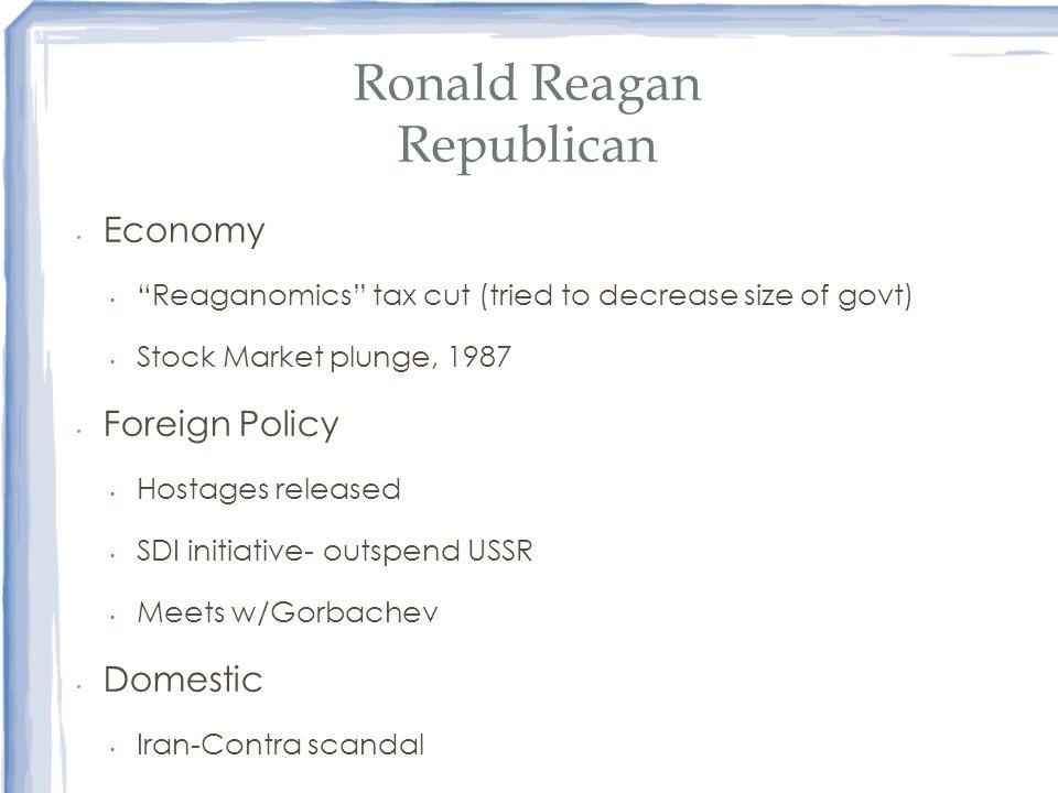 Ronald Reagan Republican