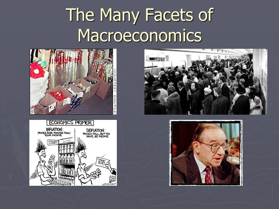 The Many Facets of Macroeconomics