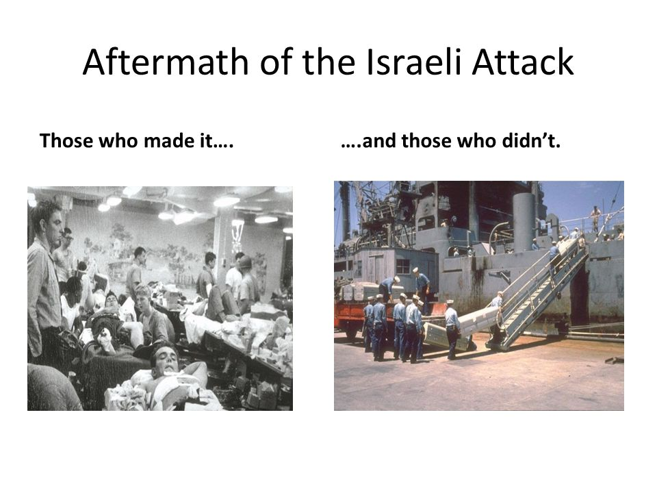 Aftermath of the Israeli Attack