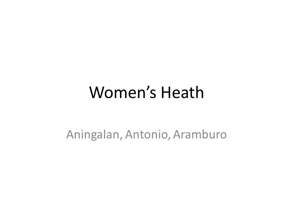 Aningalan, Antonio, Aramburo