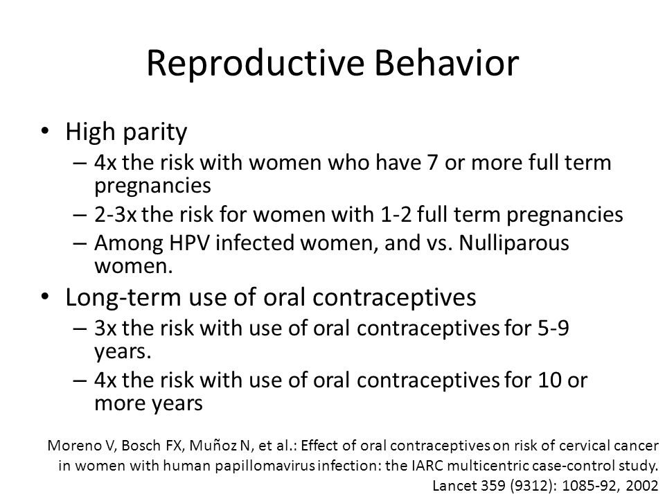 Reproductive Behavior