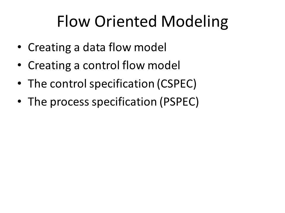 Flow Oriented Modeling