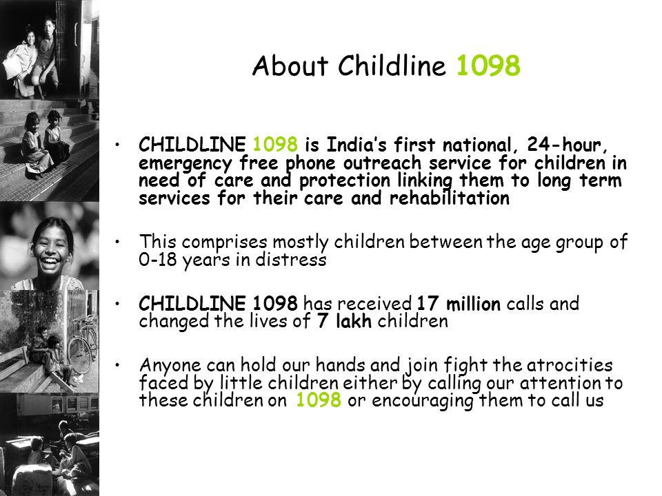 About Childline 1098