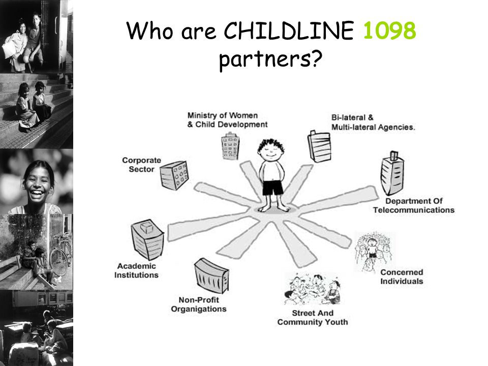 Who are CHILDLINE 1098 partners
