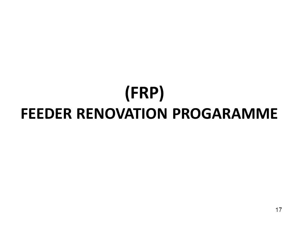 (FRP) FEEDER RENOVATION PROGARAMME