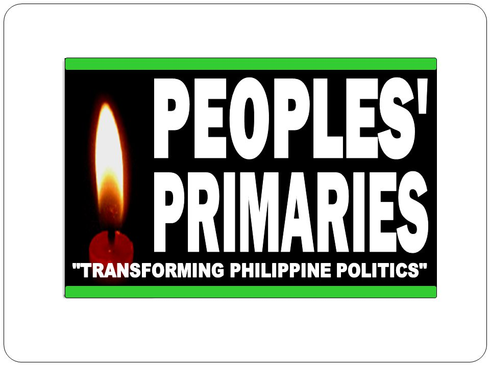 TRANSFORMING PHILIPPINE POLITICS