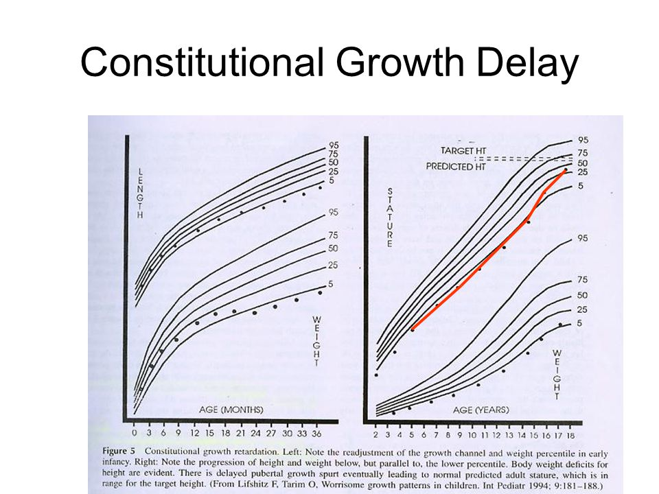 Constitutional Growth Delay