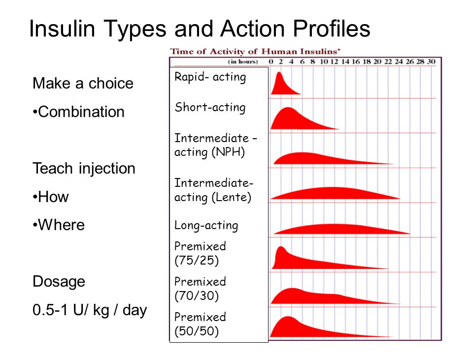 Insulin Types and Action Profiles