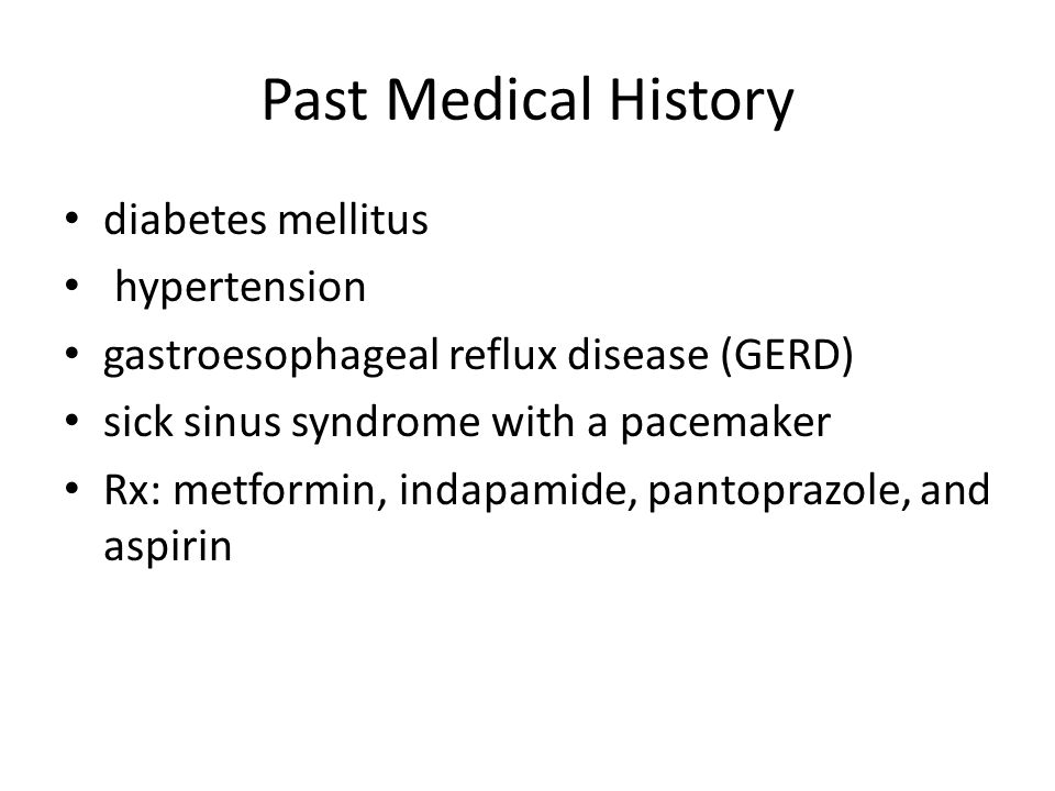 Past Medical History diabetes mellitus hypertension