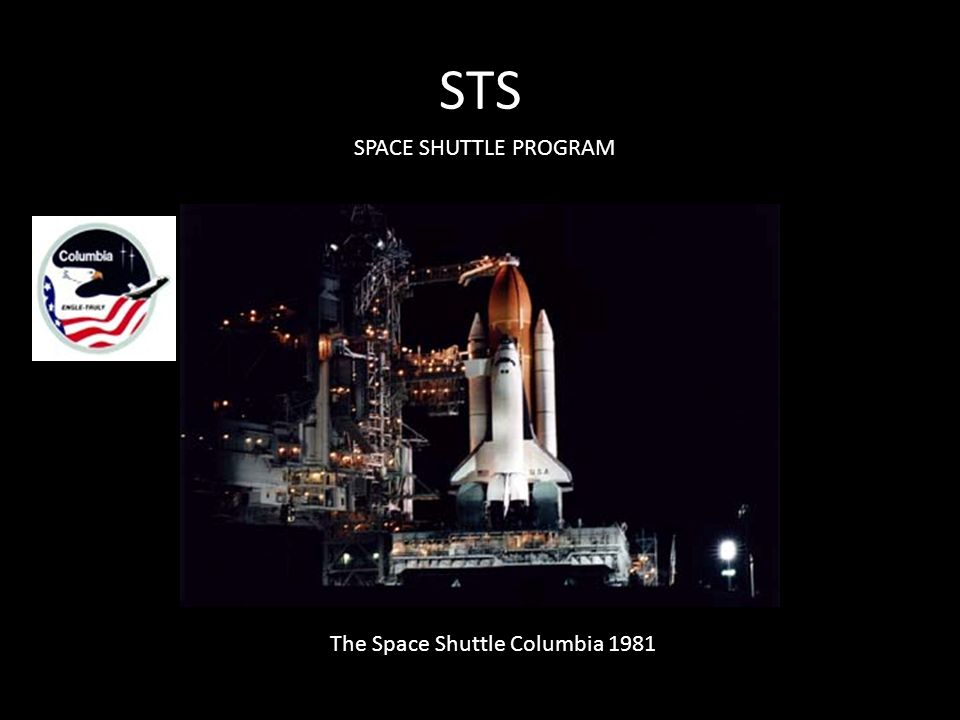 STS SPACE SHUTTLE PROGRAM The Space Shuttle Columbia 1981