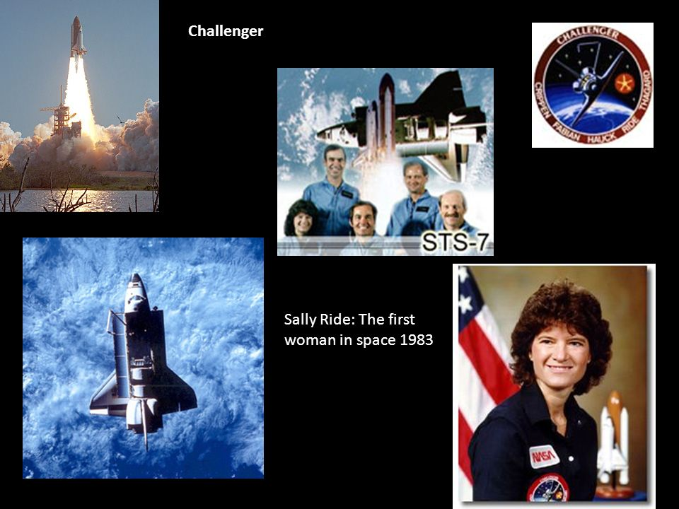 Challenger Sally Ride: The first woman in space 1983
