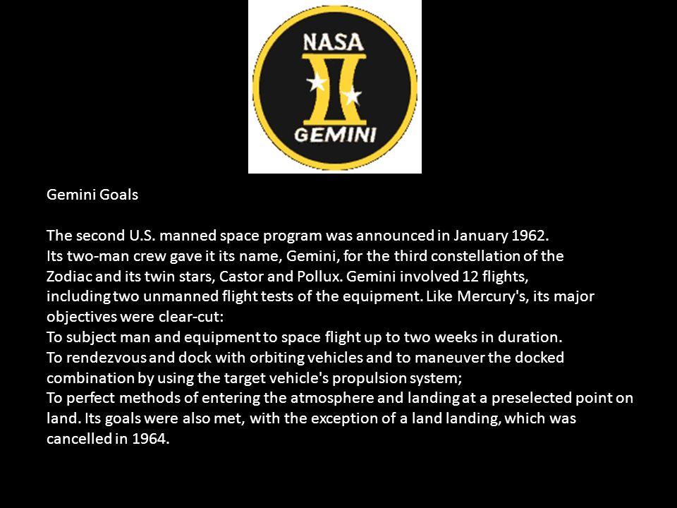 Gemini Goals