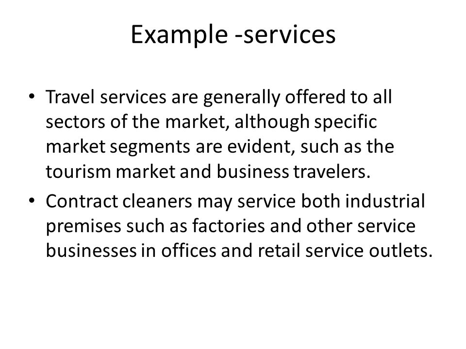 Example -services
