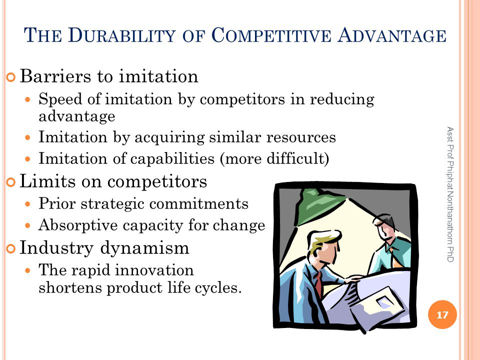 The Durability of Competitive Advantage