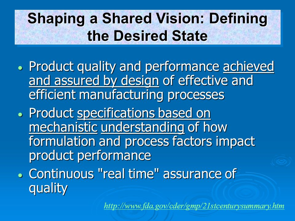 Shaping a Shared Vision: Defining the Desired State