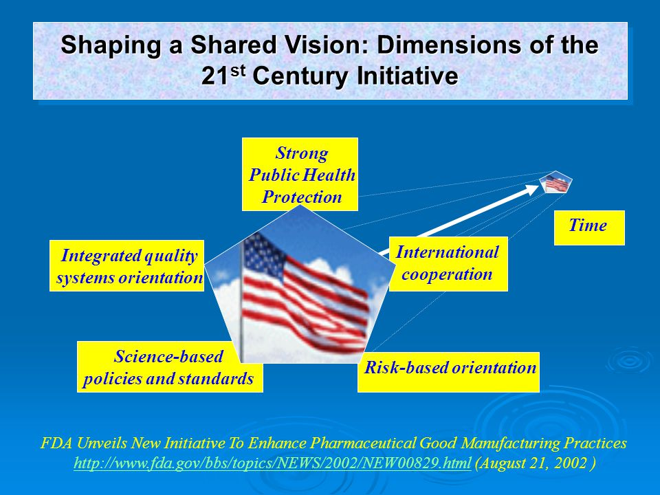 Shaping a Shared Vision: Dimensions of the 21st Century Initiative