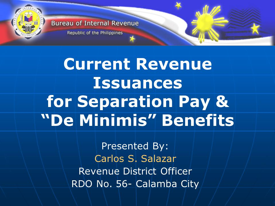 Current Revenue Issuances