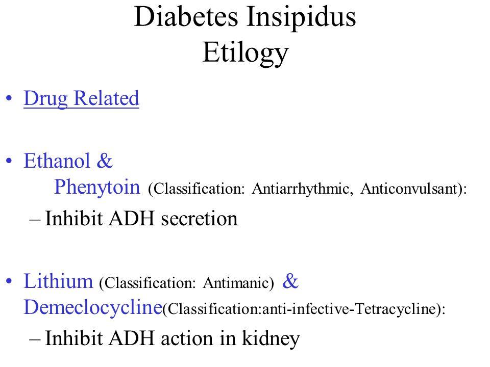 Diabetes Insipidus Etilogy