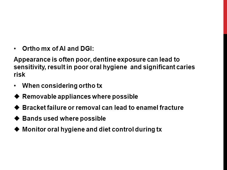 Ortho mx of AI and DGI: