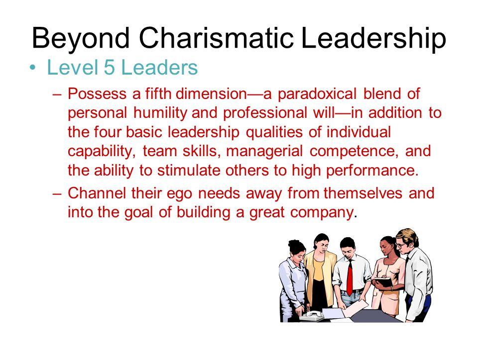 Beyond Charismatic Leadership