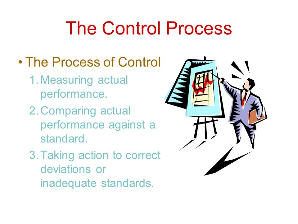 The Control Process The Process of Control
