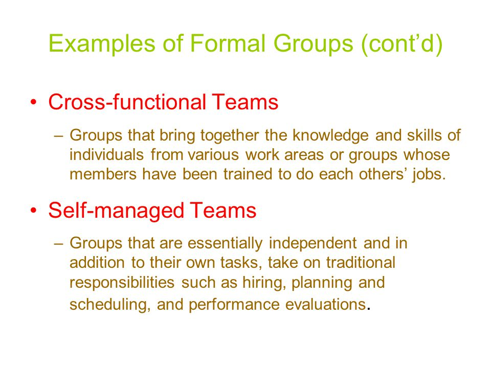 Examples of Formal Groups (cont'd)