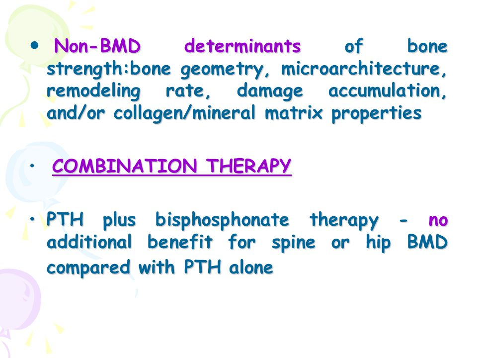 Non-BMD determinants of bone strength:bone geometry, microarchitecture, remodeling rate, damage accumulation, and/or collagen/mineral matrix properties