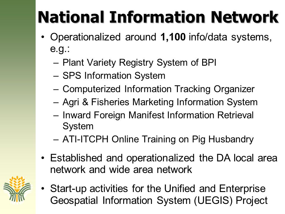 National Information Network
