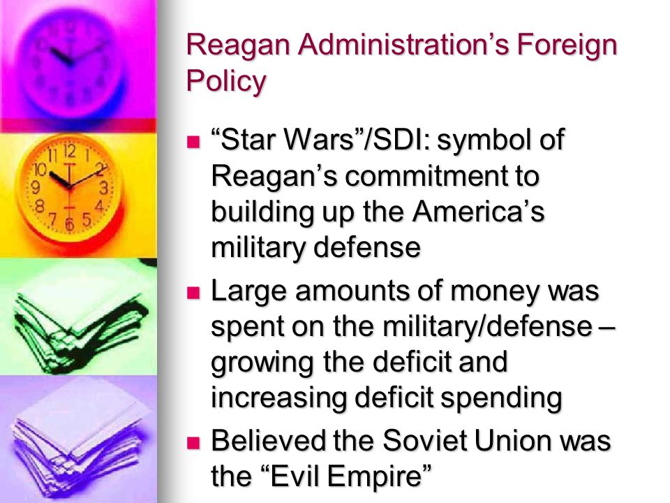 Reagan Administration's Foreign Policy