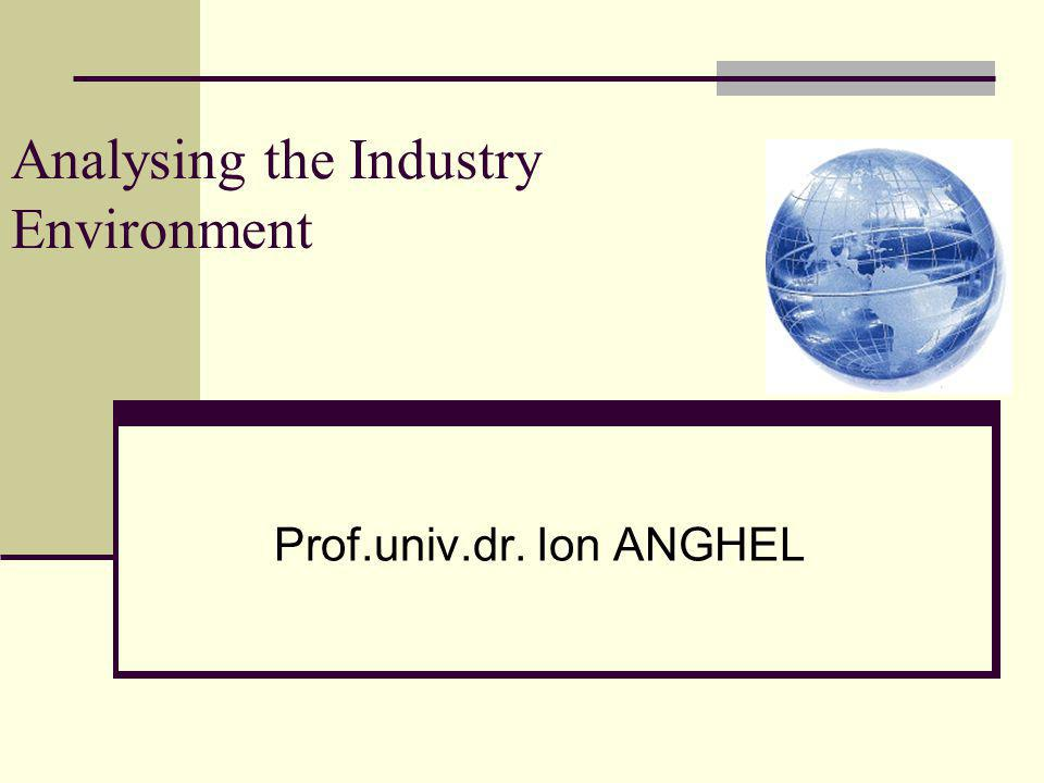 Analysing the Industry Environment
