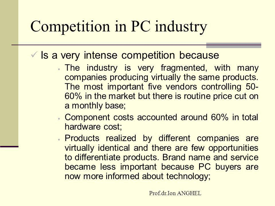 Competition in PC industry