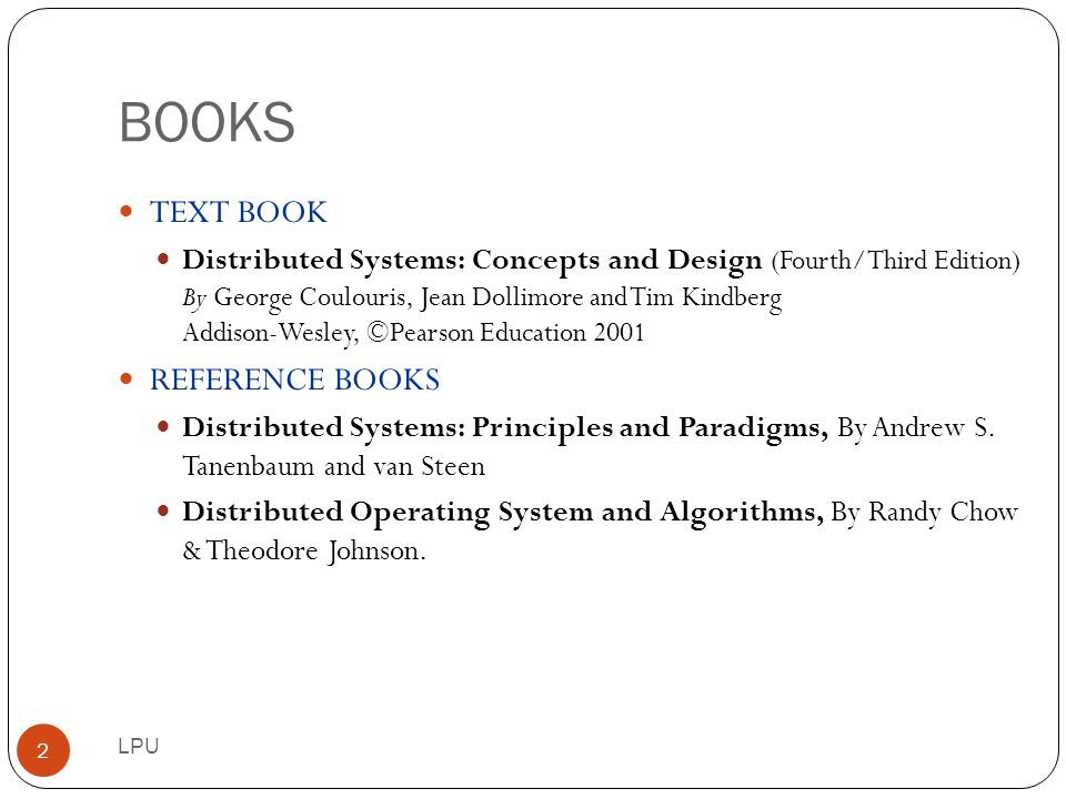 BOOKS TEXT BOOK REFERENCE BOOKS