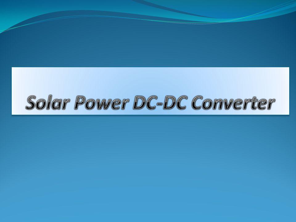 Solar Power DC-DC Converter