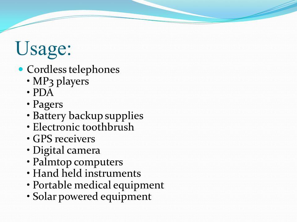 Usage: