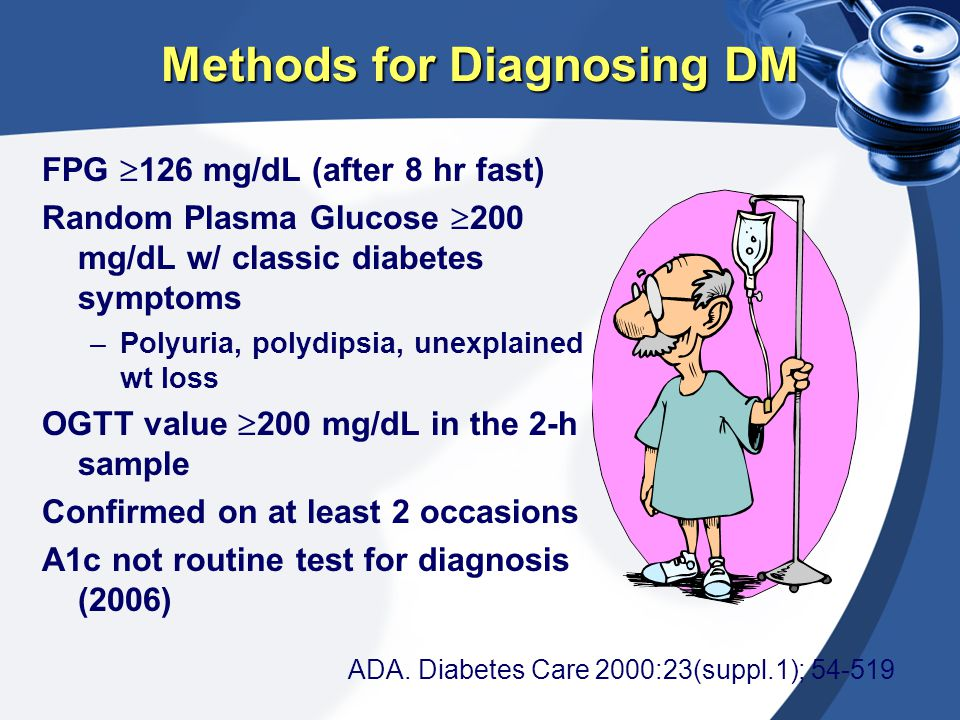 Methods for Diagnosing DM