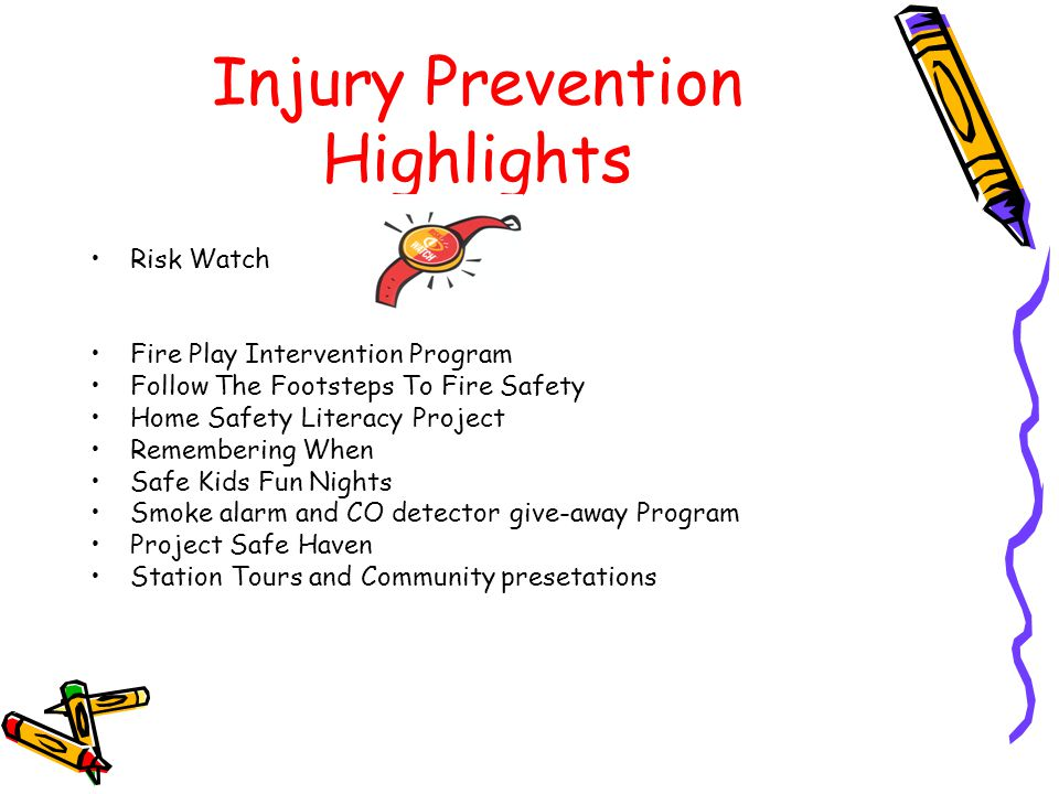 Injury Prevention Highlights