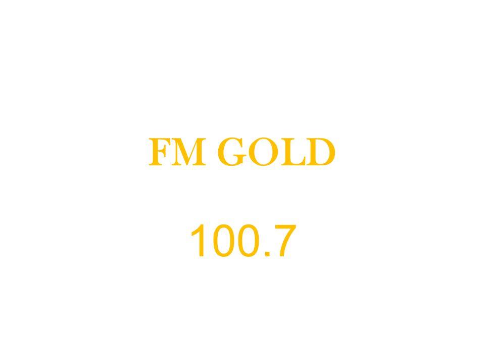 FM GOLD 100.7