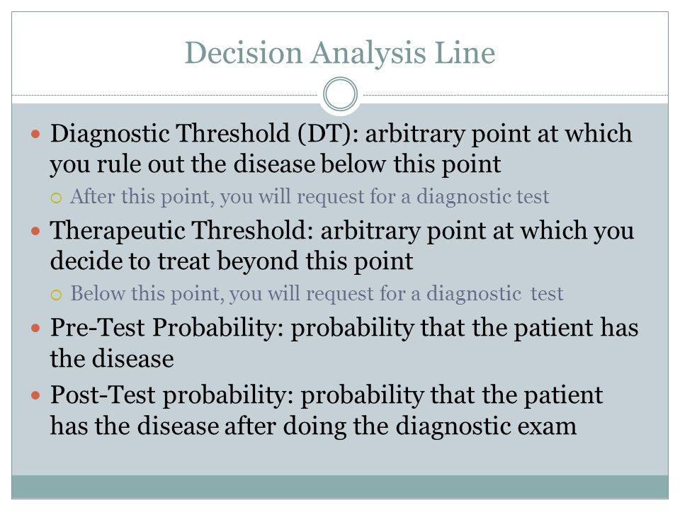 Decision Analysis Line